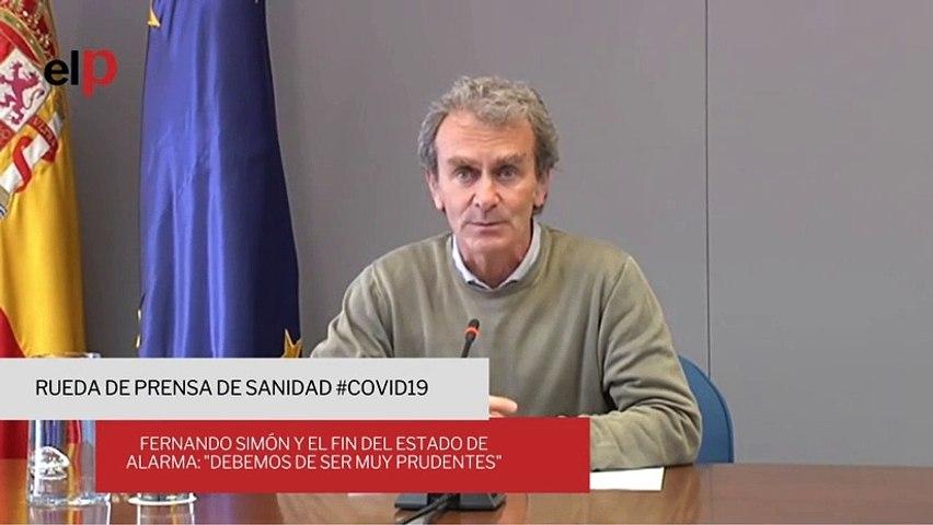 Fernando Simón y el fin del estado de alarma