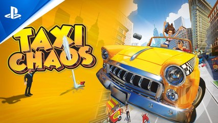Taxi Chaos - Launch Trailer - PS4