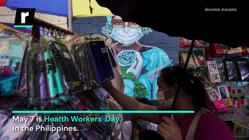 Manila in a Minute: Health Workers' Day Marked During Pandemic
