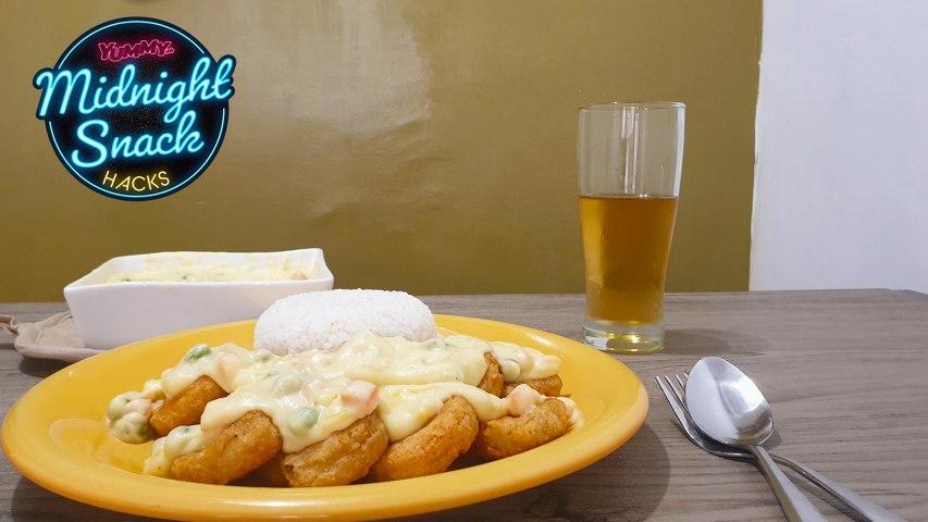 MIDNIGHT SNACK HACKS: Chicken Nuggets A La King   Yummy PH