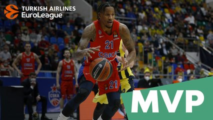 MVP for April: Will Clyburn, CSKA Moscow