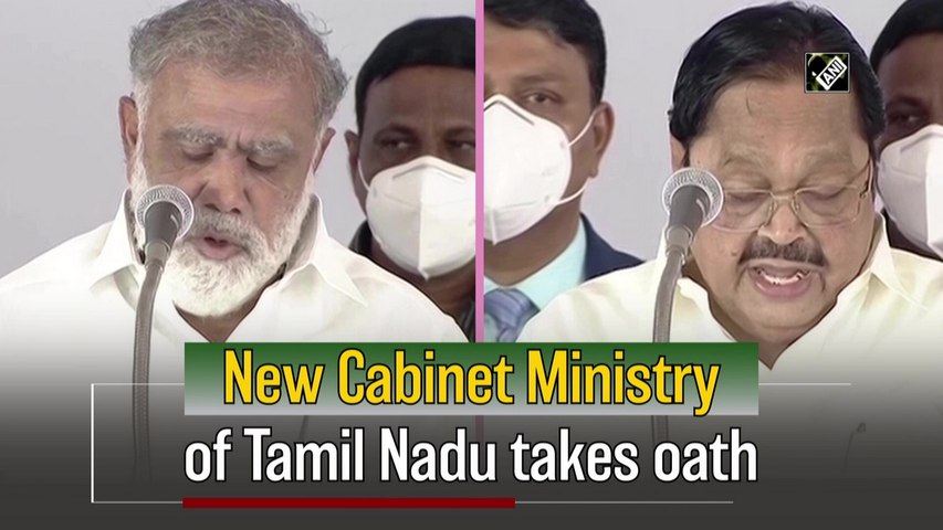New Cabinet Ministry of Tamil Nadu takes oath