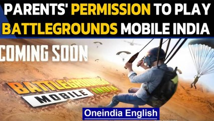 Indian PUBG, Battlegrounds Mobile India policy: Players under 18 need parental consent to play