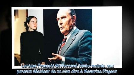 Mazarine Pingeot - ce -rituel mortifère- de la fille de François Mitterrand avec son père