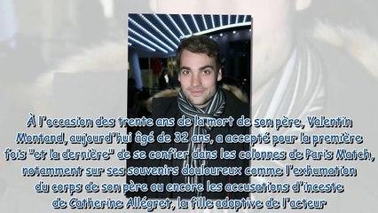 Yves Montand - son fils Valentin s'exprime sur les accusations d'inceste de Catherine Allégret