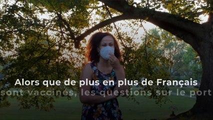 Les masques sont-ils vraiment nécessaires à l'extérieur ?
