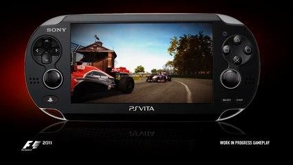 F1 2011 PS Vita Trailer - Shake It