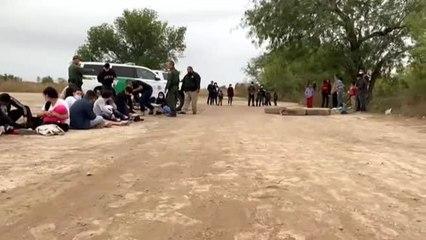 Continúa la llegada de familias de migrantes y menores no acompañados a los EEUU
