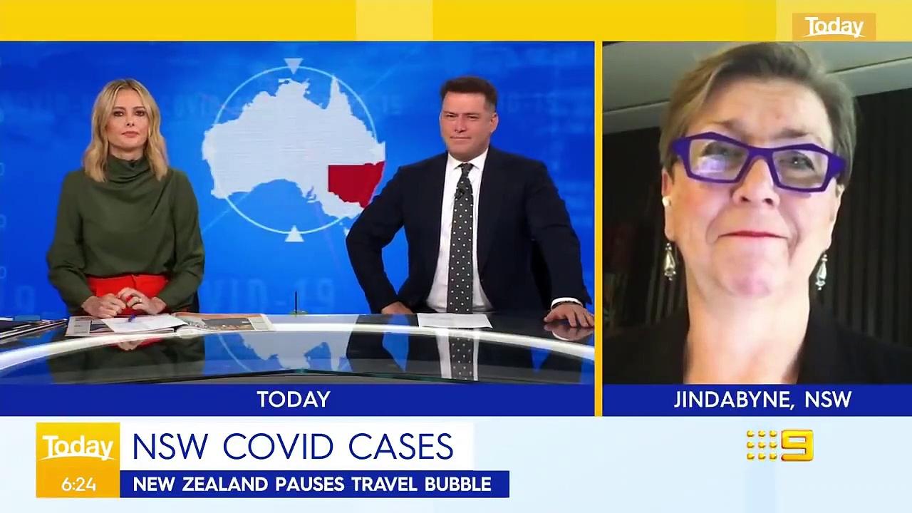 NSW looks for COVID-19 'missing link' _ Coronavirus _ 9 News Australia