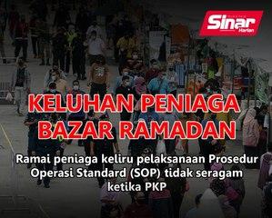 Keliru peniaga Bazar Ramadan