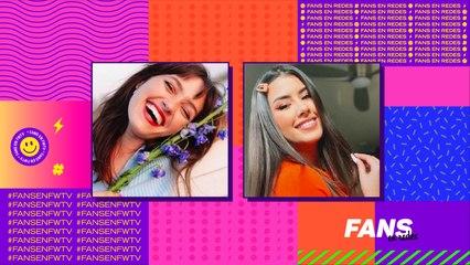 Cande Vetrano y Nicole García en Fans en Redes