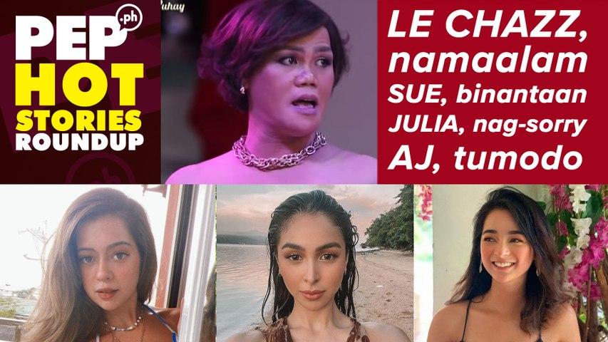 Ang malungkot na sinapit ng komedyanteng si Le Chazz; Sue, binantaan; Julia, nag-sorry