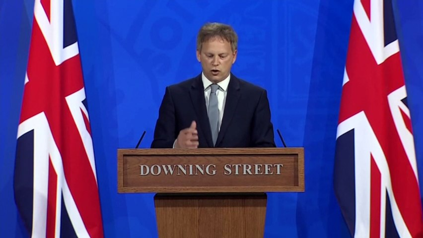 Grant Shapps explains traffic light system for travel during Covid-19 pandemic