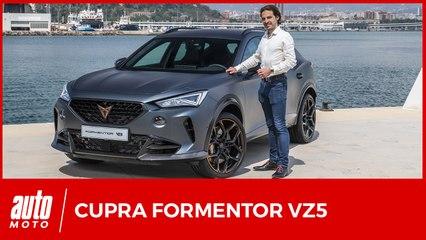 Cupra Formentor VZ5 : découverte du SUV sportif de 390 ch