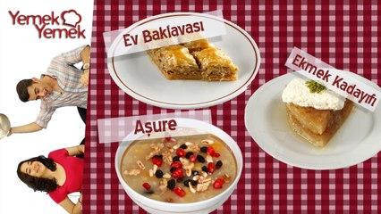 Yabancilar Türk Yemeklerini Denerse: Ev Baklavasi, Asure, Ekmek Kadayifi