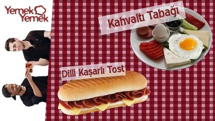 Yabancilar Türk Yemeklerini Denerse: Türk Kahvaltisi, Dilli Kasarli Tost