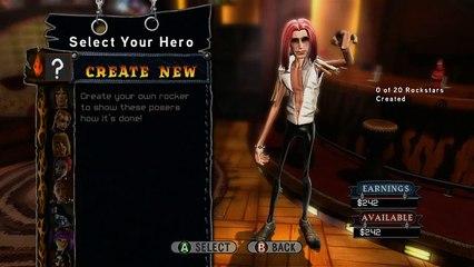 Guitar Hero World Tour - Rock Star Creator Vignette
