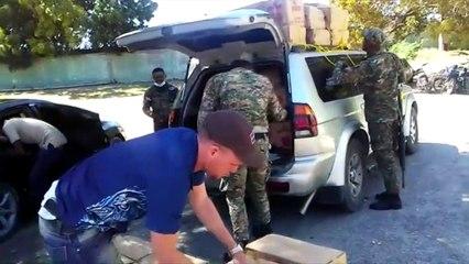 Ejército decomisa más de 156 mil unidades de cigarrillos en operativos en Jimaní