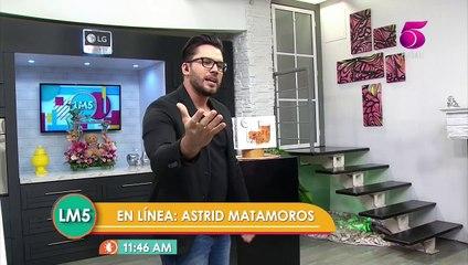 Astrid Matamoros ganadora Linea Mañanera