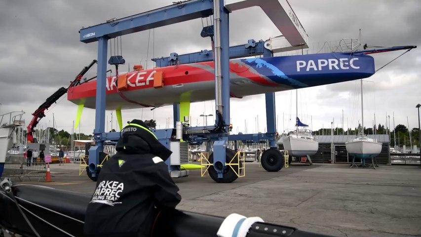 ARKEA PAPREC 2021 : Mise à l'eau avant la saison 2021