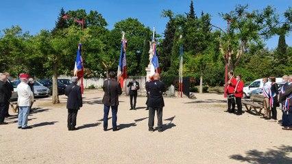 Montfrin : Cérémonie du 8 Mai