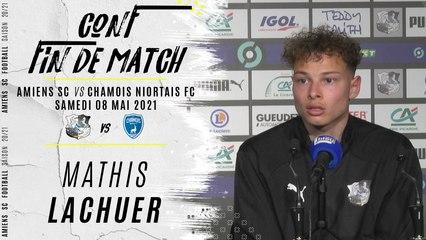 Conférence d'après match ASC - CNFC : Mathis Lachuer