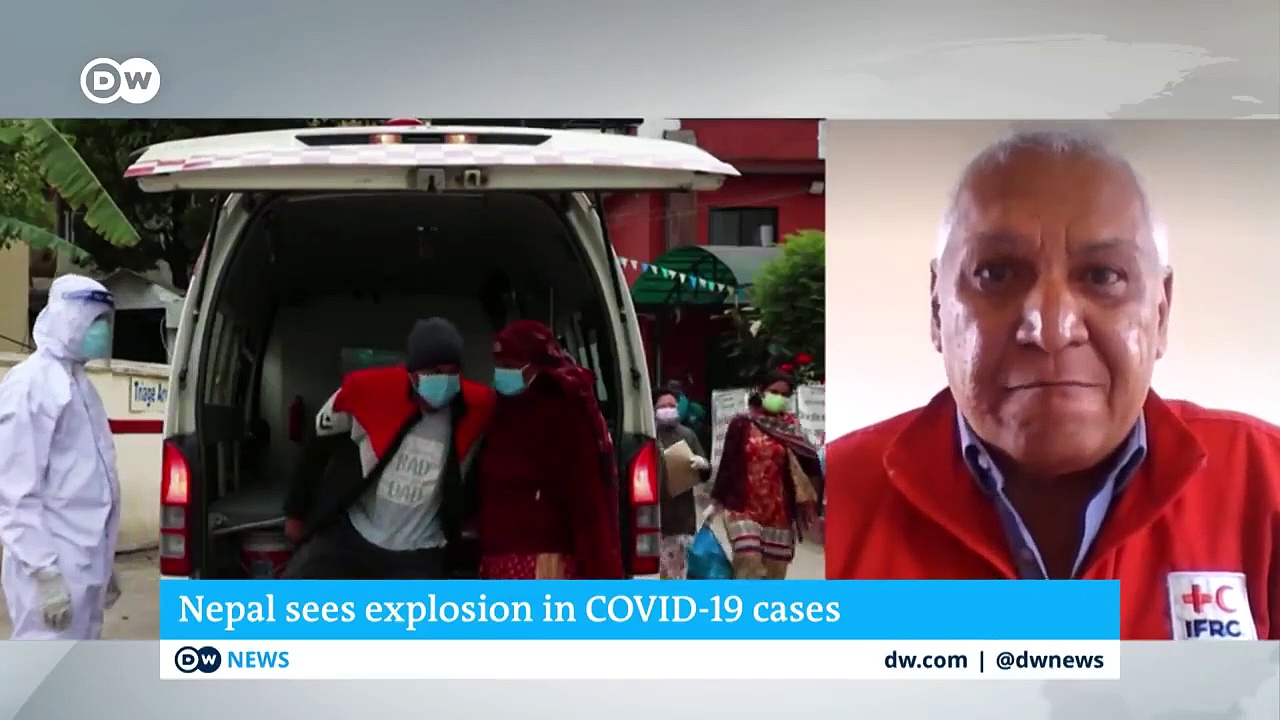Nepal sees explosion in COVID-19 cases _ DW News
