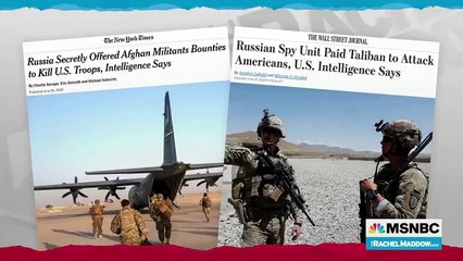Russian Bounties In Afghanistan Clarified In New Report