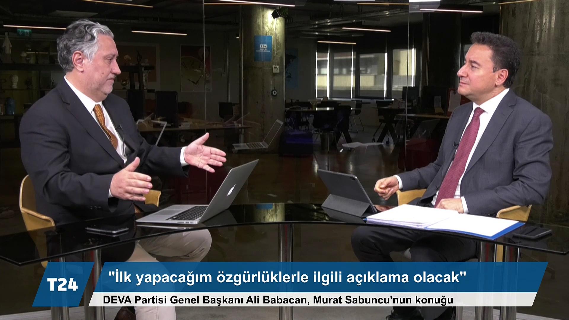 Ali Babacan: Sedat Peker videolarını izlemeye dayanamıyorum, Türkiye 1990'lardaki karanlığa döndü; Cumhurbaşkanı'na meydan okuyorum, çarşı pazarı bir dolaşsın!