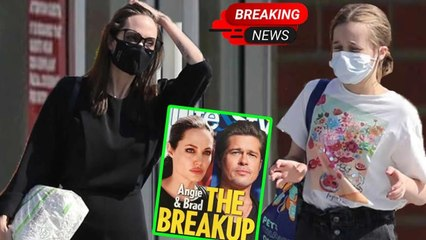 Angelina Joile panicked when lost daughter Vivienne while arguing about a divorce with Brad Pitt