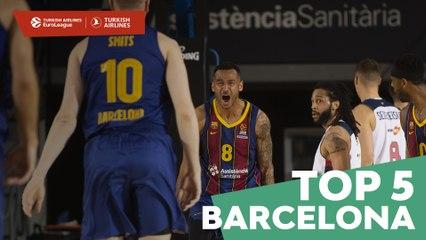 Top 5 Plays: FC Barcelona
