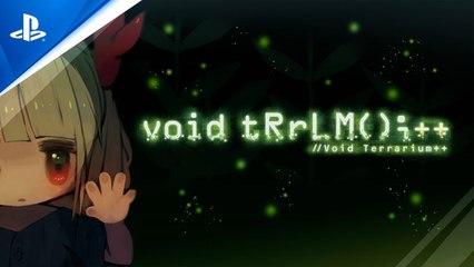 Void Terrarium++ - Announcement Trailer - PS5