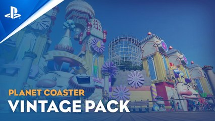 Planet Coaster- Console Edition - World's Fair Pack Trailer - PS5, PS4