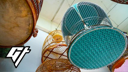 This Man's Exquisitely Handcrafted Bird Cages Sell for Thousands of Dollars