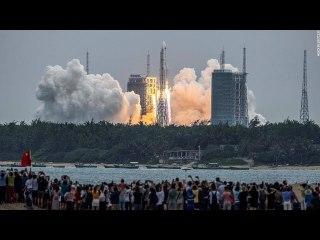 NASA criticizes China's handling of rocket re entry as debris lands near