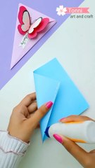 DIY Mother's Day card - Mother's Day card making - handmade card for Mom #shorts
