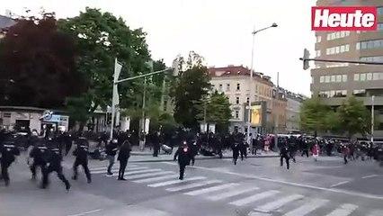 5 Verletzte Polizisten bei Demo-Eskalation in Wien