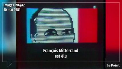 Le 10 mai 1981, l'élection historique de François Mitterrand