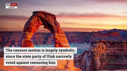 Utah county censures Mitt Romney over Trump impeachment vote