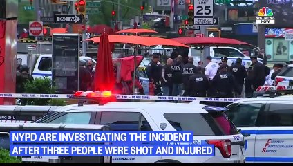 Police Investigating Times Square Shooting After Suspect Caught On Surveillance Video