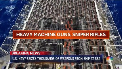 USS Monterey Intercepts Arms Shipment in Arabian Sea