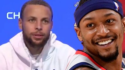 Petty Steph Curry Says He Dropped 49 Points Because He Knew Bradley Beal Had A 50 Point Game