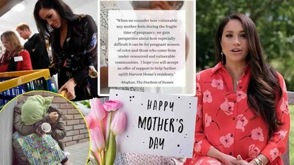 Meghan Markle celebrate Mother's Day with Action shocking - Details here