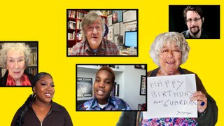 The Guardian at 200: birthday messages from famous faces