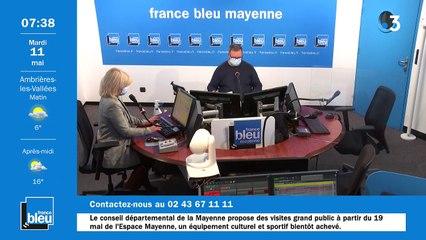 11/05/2021 - La matinale de France Bleu Mayenne