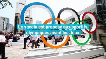 Le vaccin est proposé aux sportifs olympiques avant les Jeux