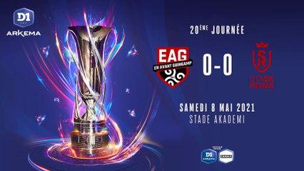 D1 Arkema - J20 : EA Guingamp - Stade de Reims (0-0)