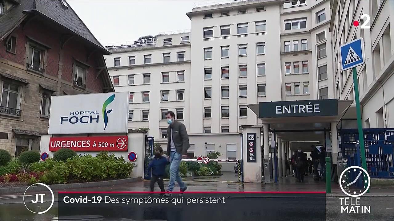 Covid-19 : des symptômes persistants pour 60% des patients hospitalisés