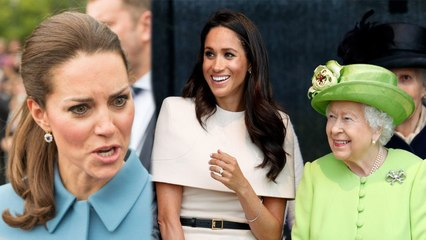 Meghan received 'royal masterclass from Queen herself' to become future Queen - Kate's furious