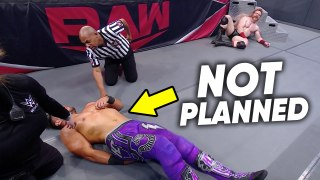 WWE Match CALLED OFF After Injury, Velveteen Dream Backstage, Raw Review | WrestleTalk